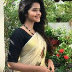 Anupama Parameswaran, Traditional look, Kerala dress