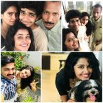 Anupama Parameswaran, family, collage, selfie with family, pet animal