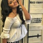 Anupama Parameswaran, glamour, white dress