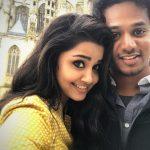 Anupama Parameswaran, selfie, foreign, shooting