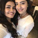 Anupama Parameswaran, selfie with Rukshar Dhillon