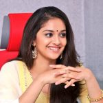 Keerthy Suresh, Nadigaiyar thilagam Press Meet, cute smile