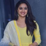 Keerthy Suresh, Nadigaiyar thilagam Press Meet, gorgeous