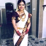 Mahalakshmi, function saree, marriage