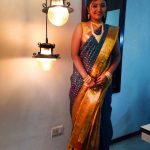 Mahalakshmi, night, glamour, saree