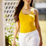 Meenakshi Dixit, model, yellow
