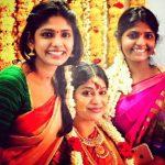 Niranjani Ahathian (13) karthika thiru vijayalakshmi feroz ceremony traditional saree pic