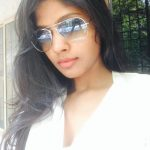 Niranjani Ahathian (26) coolers white dress selfie