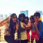 Niranjani Ahathian (33) with cousins sisters baby