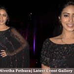 Nivetha Pethuraj, Black dress, Collage