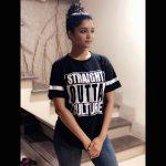 Ritika Singh, charming, perfect, black