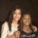 Ritika Singh, close  friend, white dress, smile
