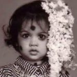 Samantha, childhood, baby, black and white, flower