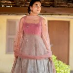 Shalini Pandey, pink dress, photoshoot
