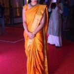 Shalini Pandey, traditional look, yellow saree, event