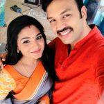 Sharanya Turadi, amith, selfie