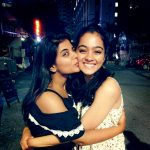 gayathrie, friend, kiss, road, night