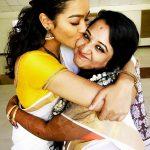 gayathrie, kerala saree, kiss