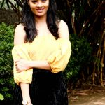 gayathrie, movie event, yellow dress