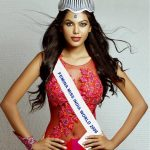 natasha suri rose dress femina miss world 2006