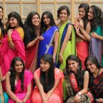 sanya malhotra  college days group photo(6)