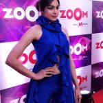 Adah Sharma, blue dress, event