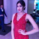 Adah Sharma, red dress, event