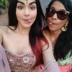 Adah Sharma, selfie, with friend