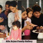 Allu Arjun, family photos