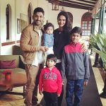 Allu Arjun, Sneha Reddy, family