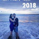 Allu Arjun, Sneha Reddy, new year celebration, beach