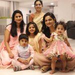 Allu Arjun, family still, diwali celebration