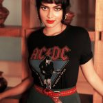 Amala Paul, black dress, red lipsstick, dazzling