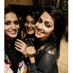 Amala Paul, friends, selfie, black, outing, night