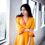 Amala Paul, lovely, yellow, model