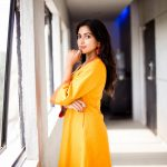 Amala Paul, yellow dress, attractive, 2018