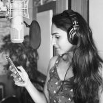 Andrea Jeremiah, black & white, picture