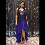 Andrea Jeremiah, blue colour