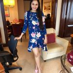 Andrea Jeremiah, blue dress, best photo