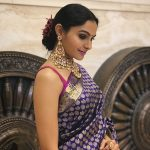 Andrea Jeremiah, saree, traditional look