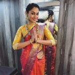 Andrea Jeremiah, saree, traditional look, best saree