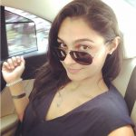 Andrea Jeremiah, selfie, black dress