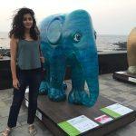 Anisha Victor, Elephant, full size, tour