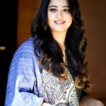Anushka Shetty, hair style, black dress, high quality