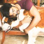 Atharvaa, pet animal, dog