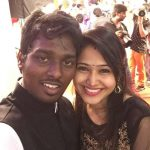 Atlee Kumar , Krishna Priya, celebration, black dress