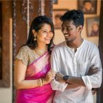 Atlee Kumar , Krishna Priya, husband, wife, photo shoot
