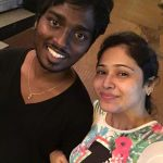 Atlee Kumar , Krishna Priya, selfie, night, white girl, black boy