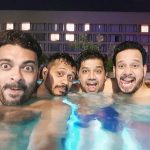 Bharath, Water, Friends, Swimming Pool, Selfie