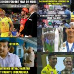 CSK Memes, CSK Won 2018, Collage, 2018, Cup, MSDhoni, Ronaldo, IPl 2018 Cup